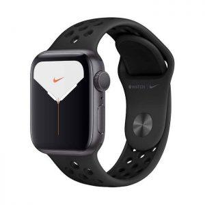 ساعت هوشمند اپل واچ 5 مدل 44mm Aluminum Case With Nike Sport Band