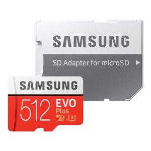 رم سامسونگ 512 گیگابایت microSDXC مدل Evo Plus