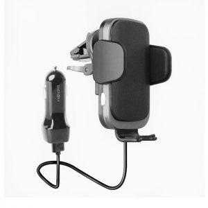پایه نگهدارنده و شارژر بی سیم گوشی انرجیا مدل Wimount sense 2