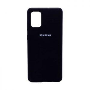 کاور سیلیکونی گوشی سامسونگ Galaxy A71 مشکی