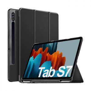 کیف کلاسوری تبلت سامسونگ Galaxy Tab S7 SM-T870 / 875 ساخت شرکت IVSO