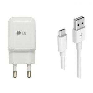 آداپتور شارژر و کابل Micro USB ال جی