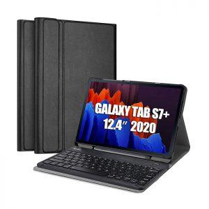 کیف کیبورد دار بی سیم تبلت سامسونگ Galaxy Tab S7 Plus ساخت شرکت ProCase