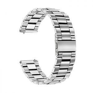 بند فلزی مناسب برای ساعت سامسونگ Galaxy Watch3 SM-R850 41mm نقره ای