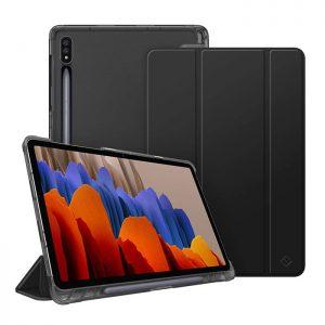 کیف تبلت فینتی سامسونگ Galaxy Tab S7 T875 / T870 / T878 مشکی