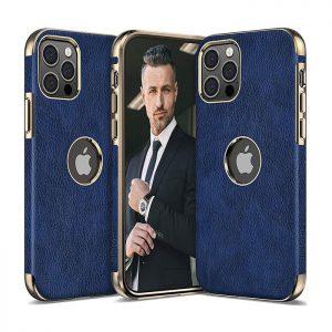 کاور چرمی گوشی اپل iphone 12 Pro Max ساخت شرکت LOHASIC