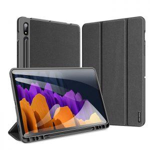 کیف کلاسوری دوکس دوسیس تبلت سامسونگ Galaxy Tab S7 به همراه جای قلم